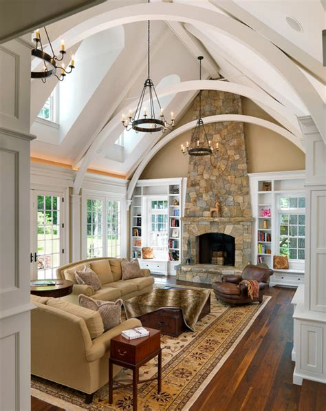 livingroom boston colonial revival traditional living room