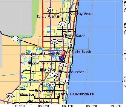 deerfield florida fl profile population maps
