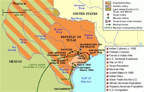 texas revolution map warfare history texas revolution 1835 1836 battle for mexico and the birth of the