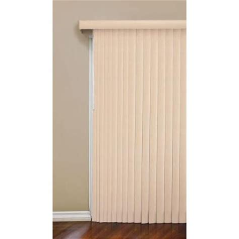 designview vine light mocha vertical blind 3 5 in vanes