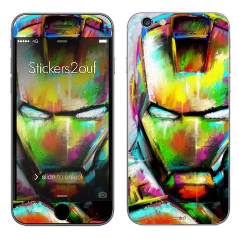 Iron Iphone 6 by Skin Iron Paint Iphone 6 Et 6s Apple