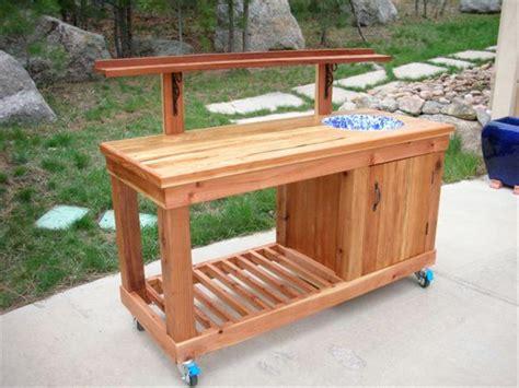 wood potting benches ed s potting bench the wood whisperer