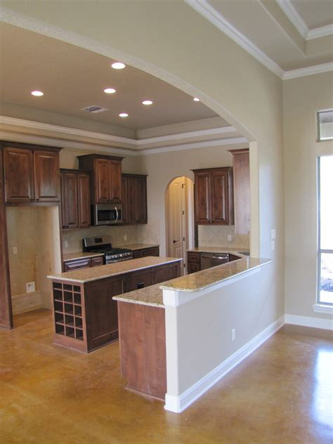 Kitchen Arch Images Custom Home Pictures San Antonio