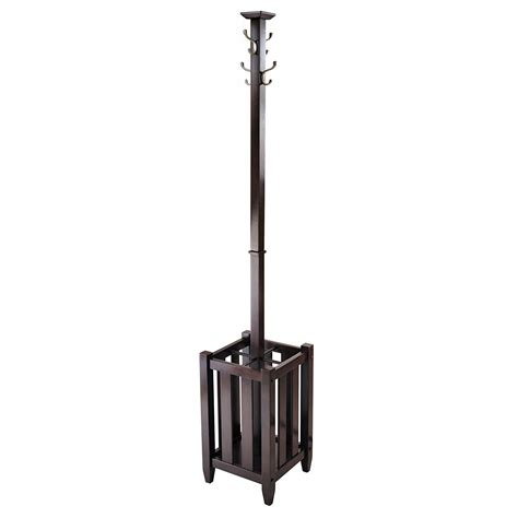 Umbrella Stand Coat Rack by Coat Rack With Umbrella Stand Holders