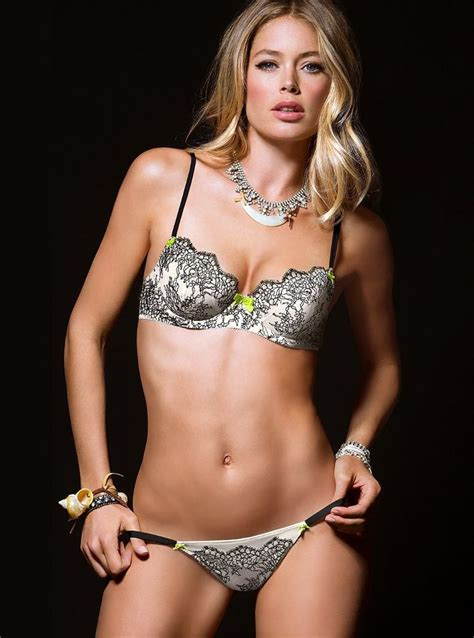 Victorias Secret Sexes Up The Oscars by Doutzen Kroes Is In S Secret Shoot