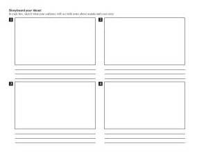 storyboard template gt text