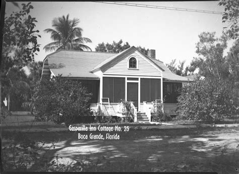 Gasparilla Inn Cottages by Gasparilla Inn Cottage Historic Photos