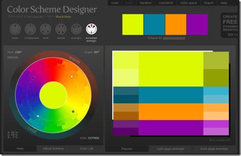 color themes software color scheme designer 3 html autos weblog