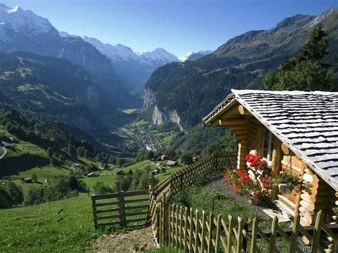Switzerland Cabin by Alpine Cabin Wengen And Lauterbrunnen Valley Berner