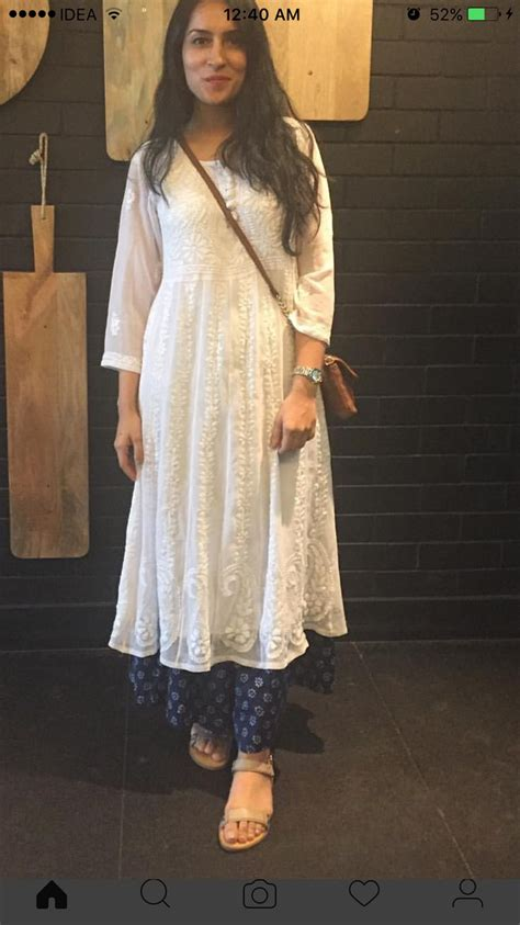 120 best white kurti images on indian gowns