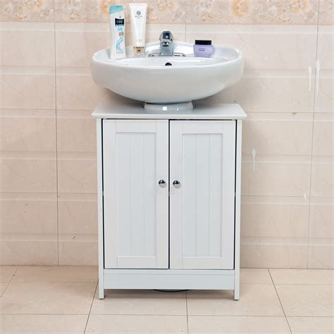 Bath Sink Storage by Undersink Bathroom Cabinet Cupboard Vanity Unit Sink