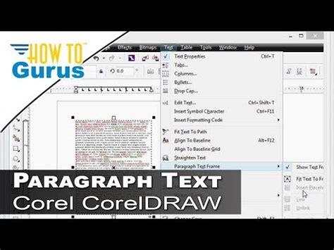 corel draw x7 effects full download tutorial coreldraw x6 brochure tri fold a4