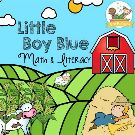 Boy Blue boy blue preview pre k pages