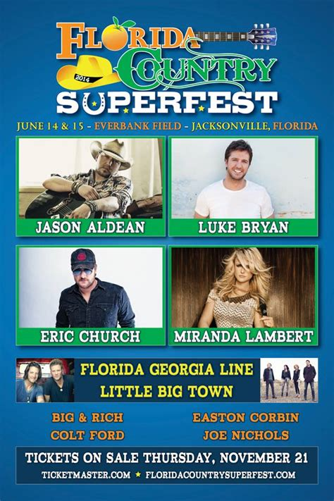 country music festival jacksonville 2014 lineup country music jacksonville country music fest