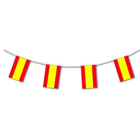 printable spanish flag bunting spanish flag bunting