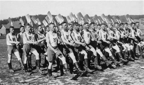 hitler youth biography amazing pictures of life during wartime germany daily