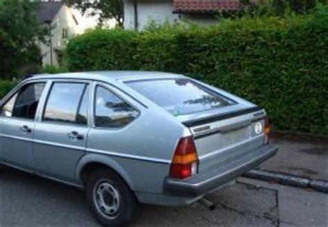 Volkswagen Passat Hatchback by Volkswagen Passat Hatchback 1985 1988 Reviews Technical