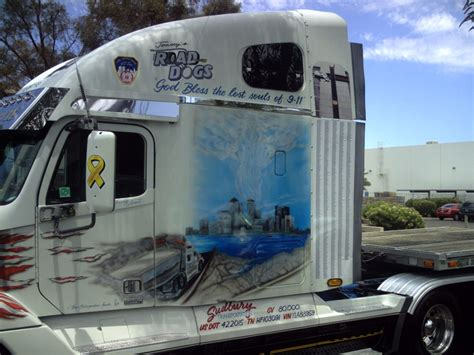 painting trucks pictures of 911 tribute paint trucks page 1