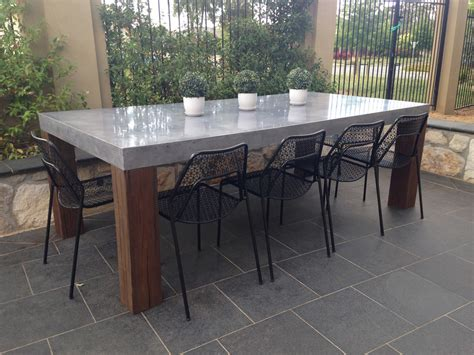 Concrete Patio Table Set Concrete Patio Table Patio Building