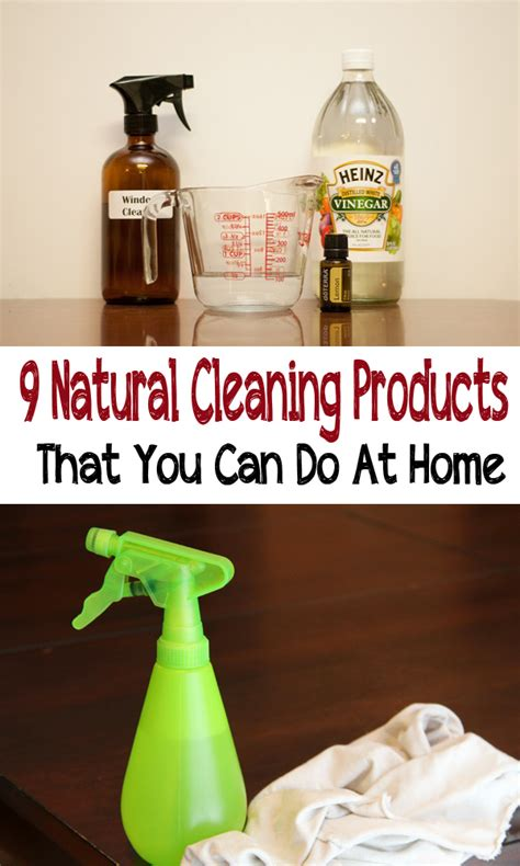 9 natural cleaning products that you can do at home