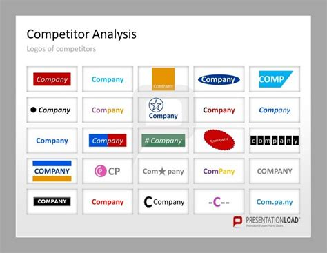86 Best Business Strategy Powerpoint Templates Images On Pinterest Competitive Analysis Template Ppt