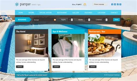 30 Responsive Hotel Html Templates For Business Show Wp Resort Website Template