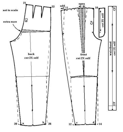 pattern drafting jeans 137 best images about pants fitting and drafting on