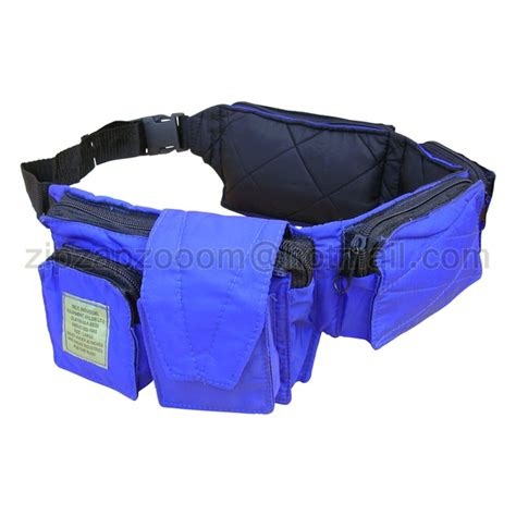 Waist Bag Neverends Blue Army travel adventure utility waist day army tool pack bum bag
