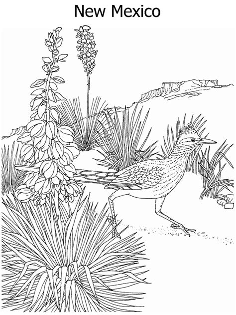 Mexico Coloring Pages - GetColoringPages.com Eagle Coloring Pages Free