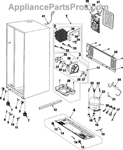 samsung refrigerator parts diagram samsung da35 10013q start relay appliancepartspros