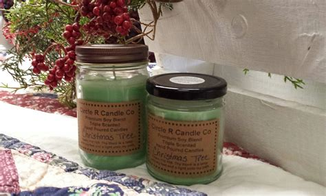 christmas tree christmas scented candles