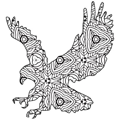 Geometric Coloring Pages Animals | 30 free coloring pages a geometric animal coloring