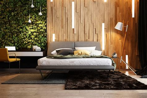 How To Design Your Bedroom Wall by Wooden Wall Designs 30 Striking Bedrooms That Use The