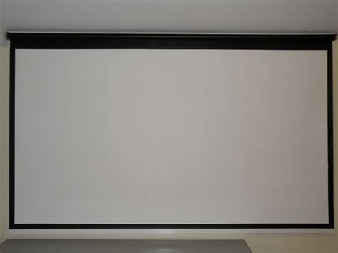 projector screen ceiling 110 16 9 motorized in ceiling projection screen me3381 110