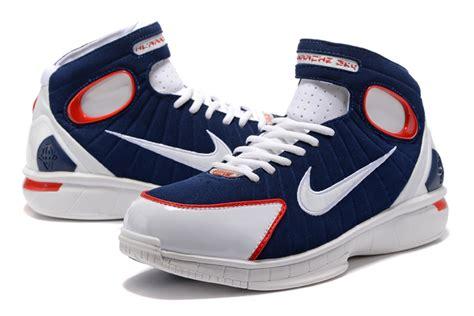 nike huarache 2k4 basketball shoes nike air zoom huarache 2k4 retro mid navy