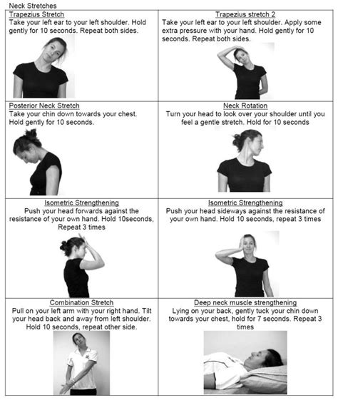 neck excercise here are a few simple neck exercises that you may try to relieve neck