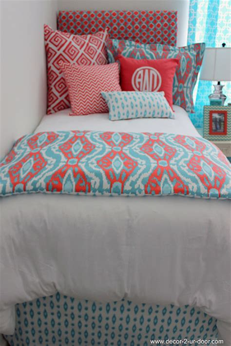 Coral And Aqua Bedding by Graduation Archives Decor 2 Ur Door