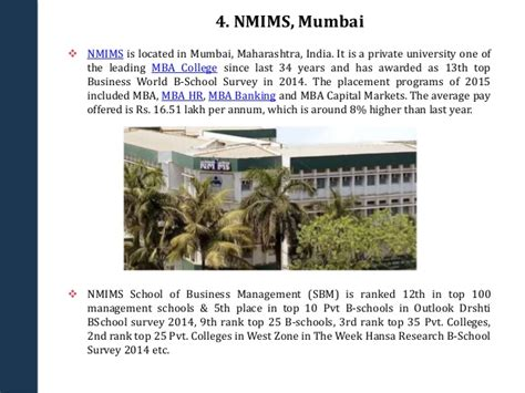 Best Mba Schools In India 2014 by Top Mba Colleges In India