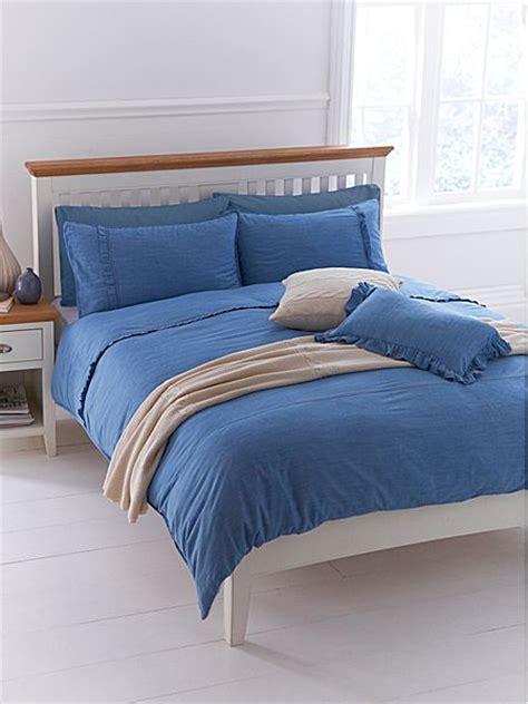 king size denim comforter linea pretty denim king duvet cover set house of fraser