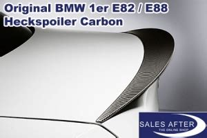 Bmw M Performance Heckspoiler Carbon 1er E82 E88 by Salesafter The Online Shop Bmw Performance 1er E88