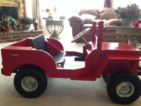 homemade jeep toys ewillys