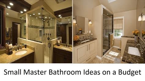 master bathroom ideas on a budget beauteous 10 small bathrooms youtube decorating