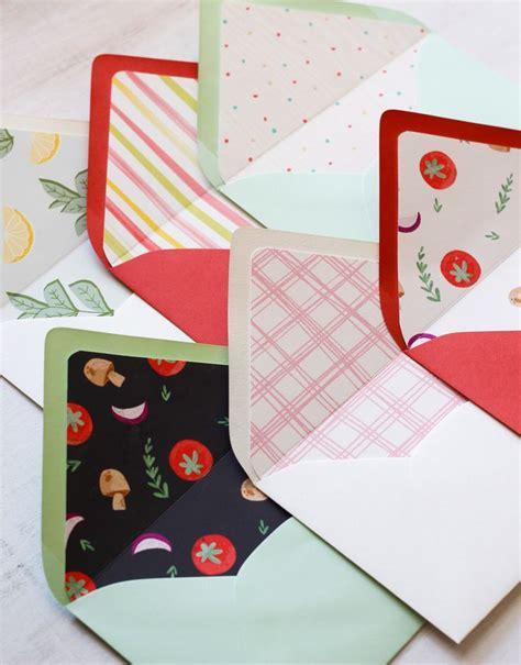 printable envelope liners fun free printable diy envelope liners for parties