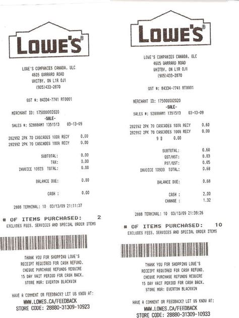 lowe s receipt template expressexpense custom receipt maker receipt