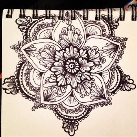 henna flower tattoo tumblr kellycaroline ideas tattoos mandala