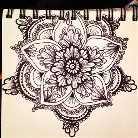 henna tattoo flower tumblr kellycaroline ideas