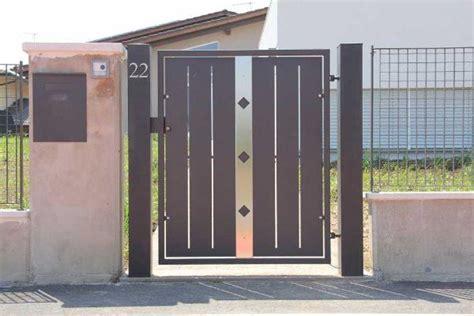 cancelli ingresso cancello in metallo progetto per l ingresso pedonale