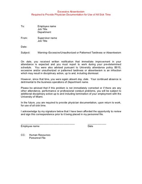Explanation Letter Against Warning Letter explanation letter of tardiness 28 images sle warning