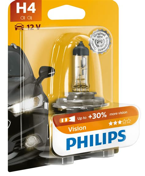 Lu Halogen H4 Weather Vision Philips phi h4 vision h4 headlight bulb philips vision at
