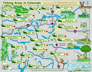fishing maps colorado colorado fishing map lakes rivers co vacation directory